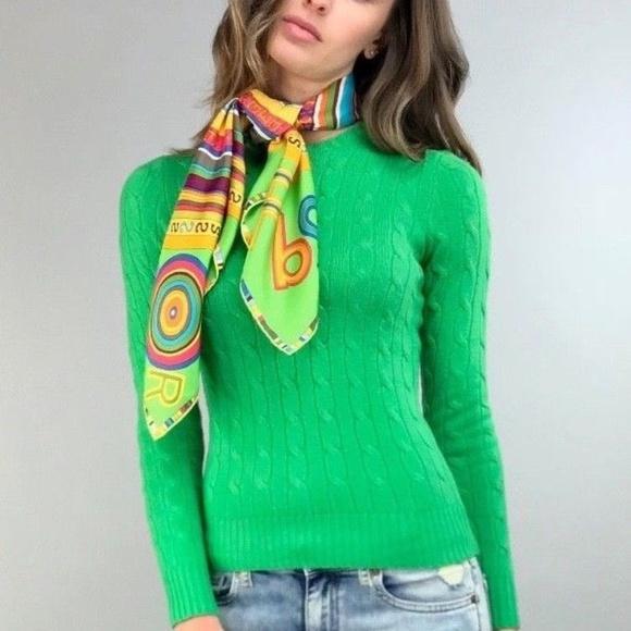 88dfdb71e Polo Ralph Lauren Cable-Knit Cashmere Sweater XS. M 5b5f6ea7c2e9fe773c35e4ec
